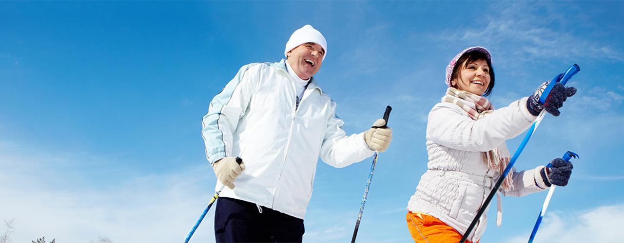 Man Skiing Image